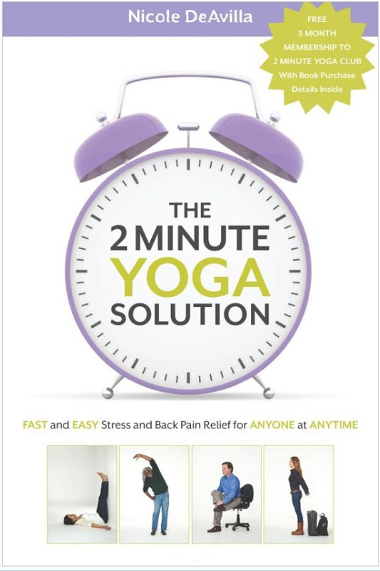 2 Minutes of Yoga = A BetterYOU!