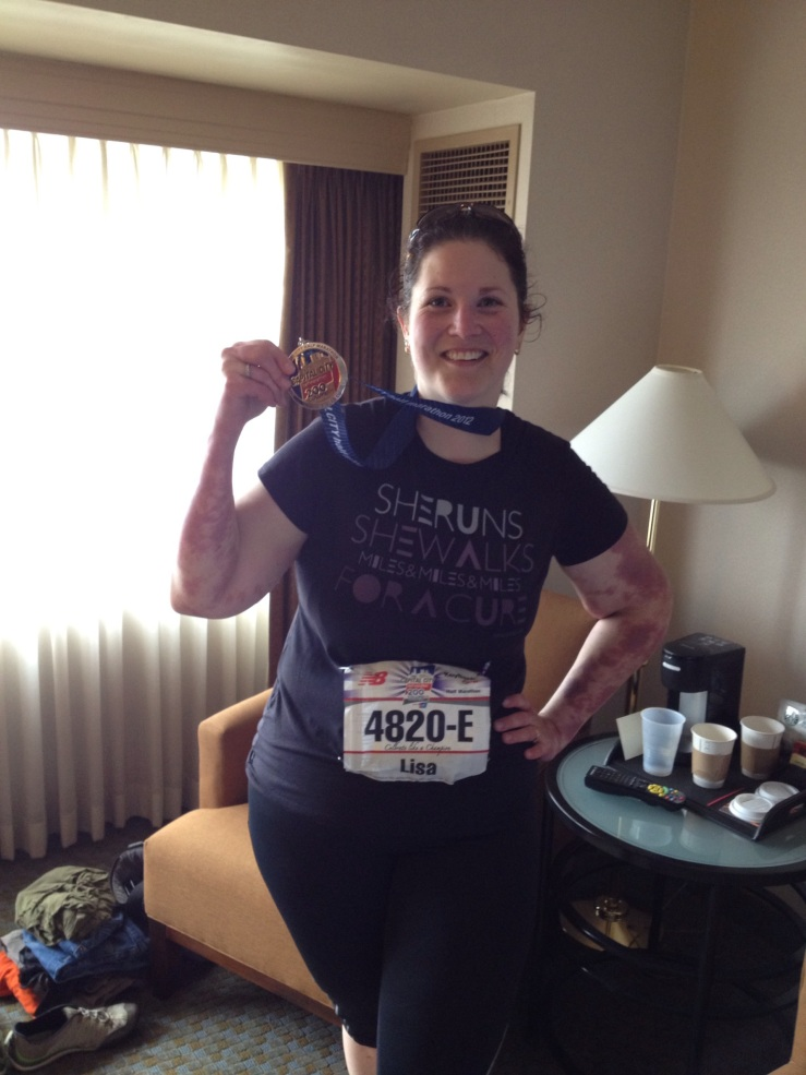 4 th half Marathon May 2012