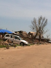 Moore, Oklahoma after the tornado that misplaced scores of families, some who were deaf