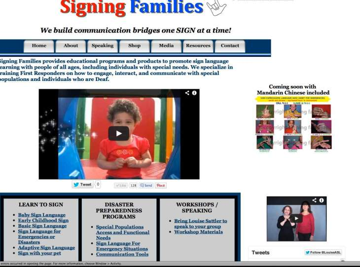 SIGNING FAMILIES has a NEW look!