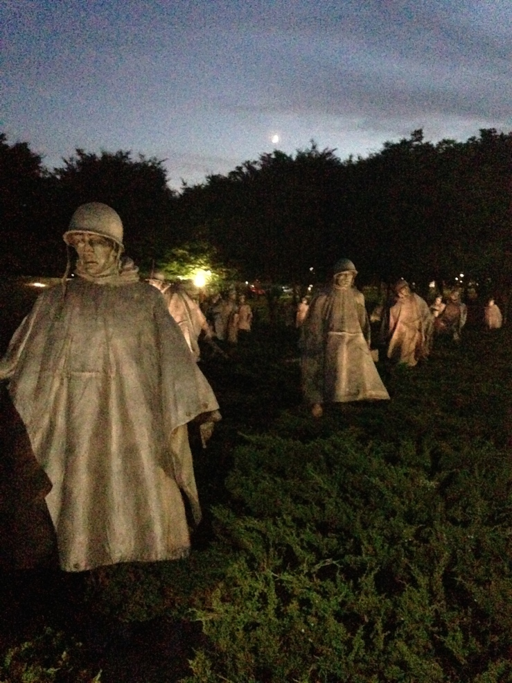 The riveting Korean memorial - a MUST visit