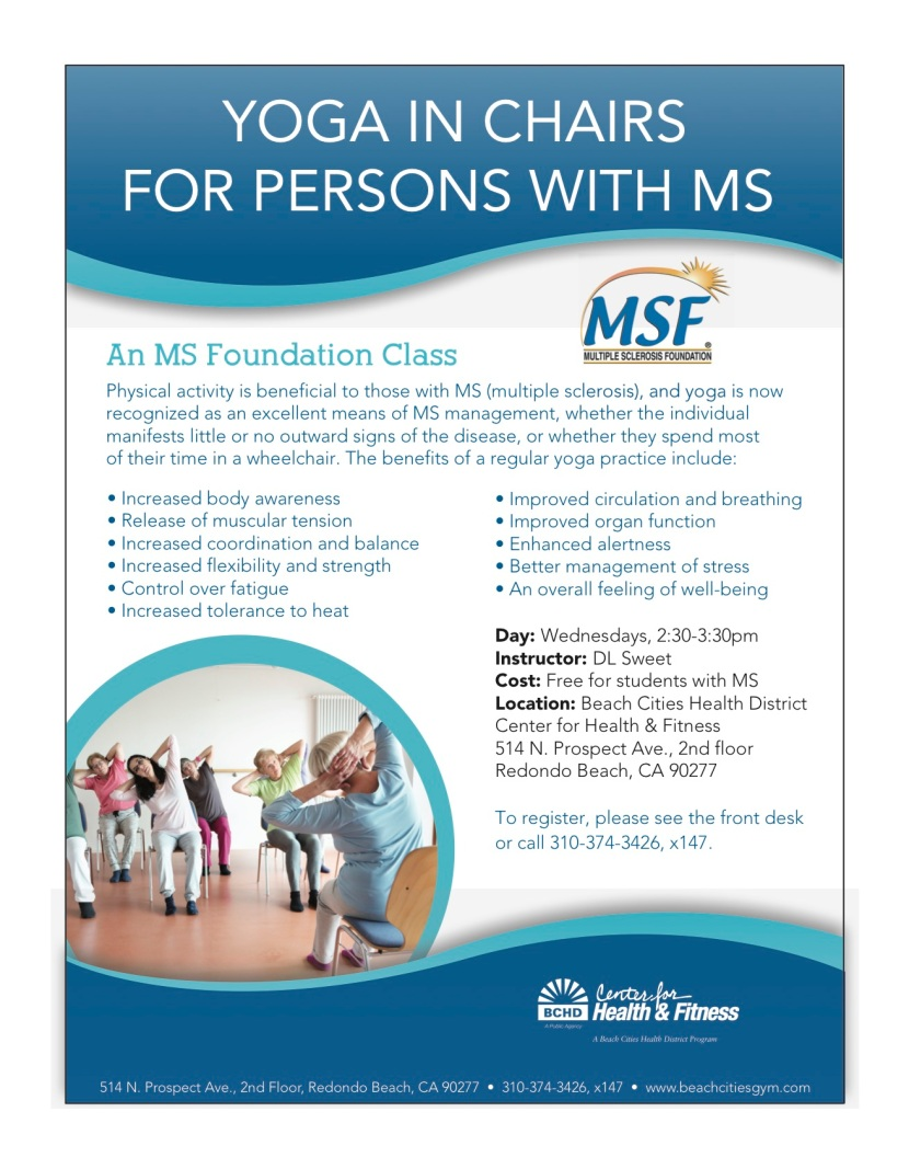 UPDATED: Yoga for Patients with Multiple Sclerosis –MS
