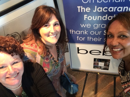 Helping support the kids of Jacaranda who have been impacted by HIV. With Ricki Lake and Maria DeSilva