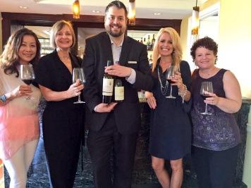 Having a fun time a the Ritz Carlton with Ann Tran, Jodi Okun and Rebekkah Radice