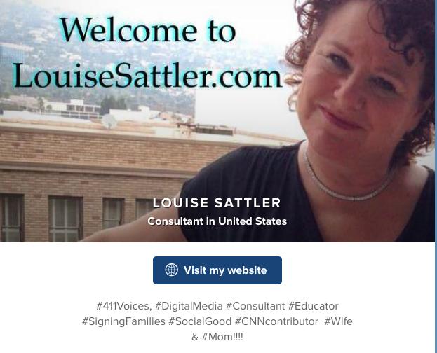http://www.About.me/LouiseASL