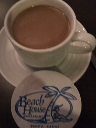The Beach House made the BEST cup of coffee I had during our stay in Kauai