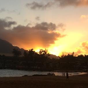 Sunset in Lihue