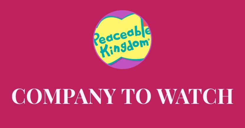PEACEABLE KINGDOM, A company to watch with products that amaze!